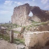 Photo taken at Karak Castle قلعة الكرك by Abdrhman N. on 4/18/2014