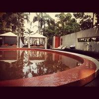 Photo taken at Tivoli São Paulo - Mofarrej by Thiago C. on 10/27/2012