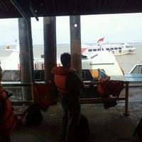 Photo taken at Pelabuhan Tanjung Buton Riau by Heru S. on 10/17/2012