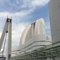 Photo taken at PACIFICO Yokohama by Aki N. on 4/25/2013