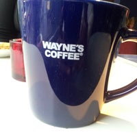 Photo taken at Wayne´s Coffee by Eddy N. on 10/5/2013