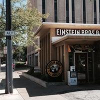 Photo taken at Einstein Bros Bagels by Gregory W. on 9/5/2015