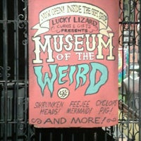Photo taken at Museum Of The Weird by Ashley T. on 2/22/2013