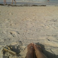 Photo taken at Los Corales Beach by Yohanna G. on 2/16/2015