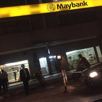Photo taken at Maybank by Amy L. on 6/28/2016