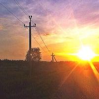 Photo taken at Петрово-Дальнее by Liza ¡. on 7/20/2014