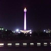 Photo taken at Terminal DAMRI Gambir by Ujang T. on 12/18/2012
