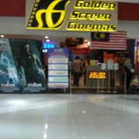 Photo taken at Golden Screen Cinemas (GSC) by KhAiRuL R. on 9/13/2013