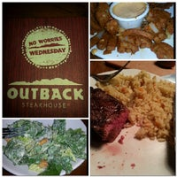 Photo taken at Outback Steakhouse by Courtney S. on 10/19/2013