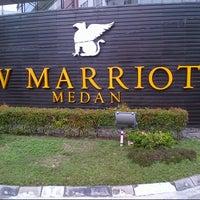 Photo taken at JW Marriott Hotel Medan by Ene A. on 2/9/2013