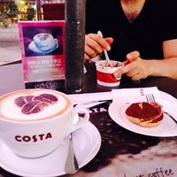 Photo taken at Costa Coffee by Mousechka P. on 9/28/2013