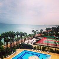 Photo taken at Mersin HiltonSA Hotel by Cigdem A. on 10/25/2015