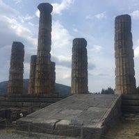 Photo taken at Temple of Apollo by Katerina T. on 8/25/2016