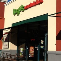 Photo taken at TOGO'S Sandwiches by Nicole H. on 11/8/2013