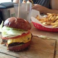 Photo taken at Butcher & The Burger by Elizabeth N. on 9/9/2013