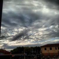 Photo taken at Stazione di Mantova by Simon L. on 9/27/2012