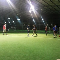 Photo taken at Cimahpar Futsal by Tonny Sandro S. on 1/12/2014