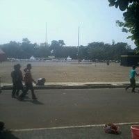 Photo taken at Lapangan Tegalega by Irwan F. on 9/7/2013