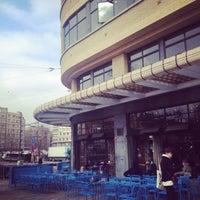Photo taken at Café Belga by joel r. on 3/2/2013
