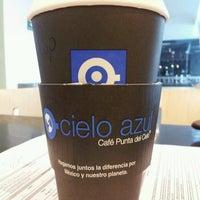 Photo taken at Café Punta Del Cielo by Rosa G. on 8/9/2013