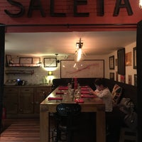 Photo taken at Le Saleya by simon l. on 4/9/2016