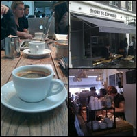 Photo taken at Store Street Espresso by Daniel S. on 1/29/2013