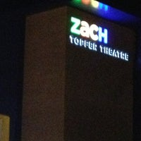 Photo taken at ZaCH Topfer Theatre by Crystal M. on 3/16/2013
