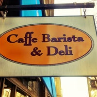 Photo taken at Caffe Barista & Deli by Justin W. on 11/8/2012