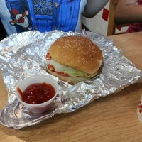 Photo taken at Five Guys by Stephen M. on 9/20/2014