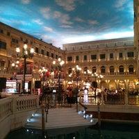 Photo taken at The Venetian Macau Resort by Vincent K. on 6/5/2013