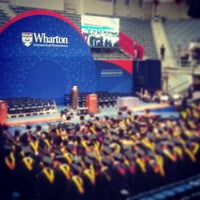 Photo taken at The Palestra by Nicole W. on 5/12/2013