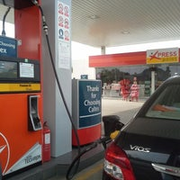 Photo taken at Caltex by Safra S. on 5/1/2013