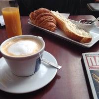 Photo taken at Métro Café by Alla F. on 3/5/2014