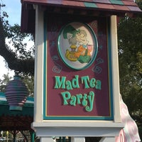 Photo taken at Mad Tea Party by Susan P. on 12/9/2012