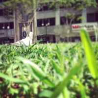 Photo taken at Post Office Square by Leisa (Lou) J. on 4/17/2013