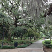 Photo taken at Forsyth Park Cafe by Suzanne S. on 9/22/2016