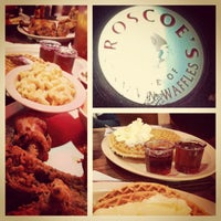 Photo taken at Roscoe's House of Chicken and Waffles by Al F. on 3/17/2013