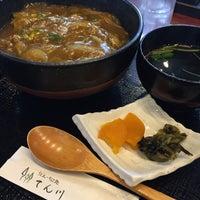 Photo taken at そば処 てん川 by NOB on 2/20/2016