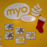 Photo taken at Myo Pure Frozen Yogurt by Sammy C. on 12/23/2014