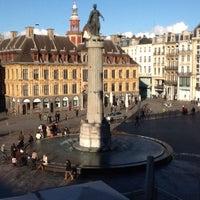 Photo taken at Grand'Place – Place du Général de Gaulle by rd24484 D. on 5/23/2013