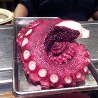 Photo taken at Oishi Sushi by Rachel S. on 1/4/2014