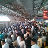 Photo taken at Dadar Railway Station by Abhijit T. on 3/3/2013