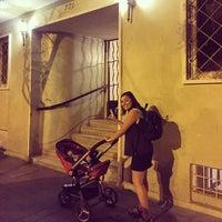 Photo taken at Barrio Lastarria by Mario V. on 3/22/2016