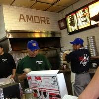 Photo taken at Amore Pizzeria by Jason B. on 2/16/2013