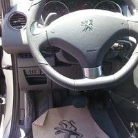 Photo taken at Ünallar Otomotiv Peugeot by Zafer E. on 5/21/2014