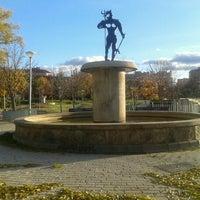 """Photo taken at Parque de """"La Ribota"""" by Genial_es on 11/28/2012"""