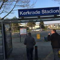 Photo taken at Busstation Parkstad Stadion by Frank B. on 5/1/2016