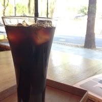 Photo taken at art cafe da:m by Wansoo S. on 5/3/2014
