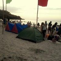 Photo taken at Marine Base Ternate Beach Resort by Aika G. on 4/18/2014