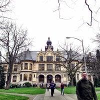 Photo taken at University of Washington by Kate K. on 4/10/2013